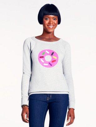 Kate Spade Ksny x darcel donut graphic sweatshirt