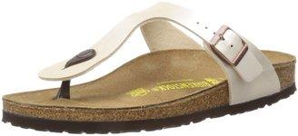 Birkenstock Women's Gizeh 912 UK UK73 Pearl White Slides Sandal 8 UK 41 EU