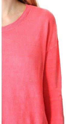 Madewell Garment Dyed Linen Pullover
