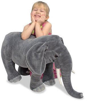 Melissa & Doug Elephant Plush Stuffed Animal