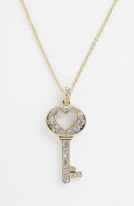 Nadri Boxed Key Pendant Necklace (Nordstrom Exclusive)