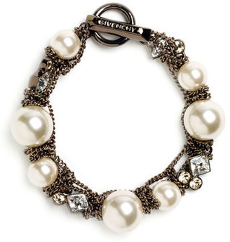 Givenchy Small Faux Pearl Bracelet