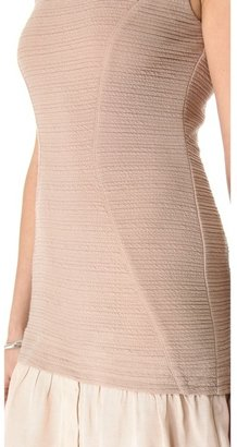 Yigal Azrouel Cut25 by Textured Ponte Dress