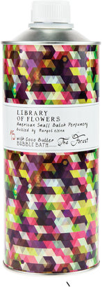 Library of Flowers The Forest Bubble Bath with Coco Butter