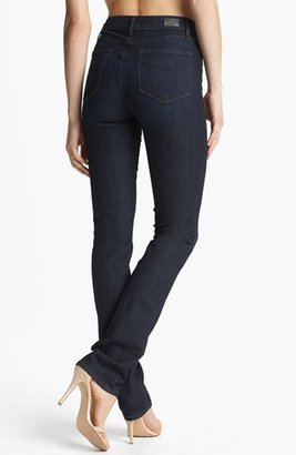 Paige 'Hoxton' High Rise Straight Leg Jeans (Kelly)