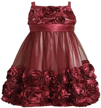 Bonnie Jean rosette bubble dress - toddler