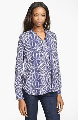 Tracy Reese Silk Broadcloth Blouse