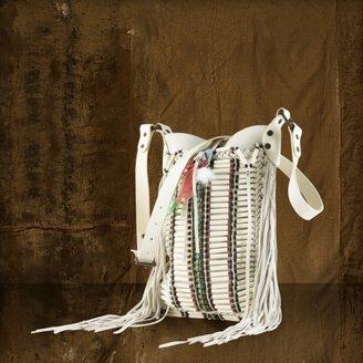 Denim & Supply Ralph Lauren Canvas Beaded Shoulder Bag