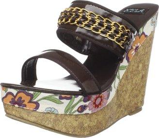 N.Y.L.A. Women's Alyna Slide Sandal