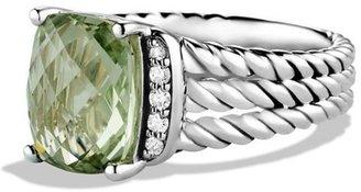 David Yurman Wheaton Petite Ring with Diamonds