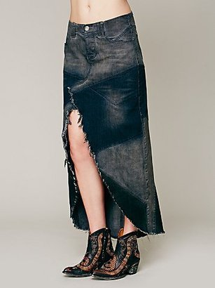 Free People Savannah Patched Maxi