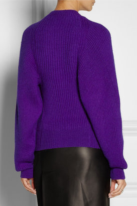 Stella McCartney Ribbed alpaca and cashmere-blend sweater