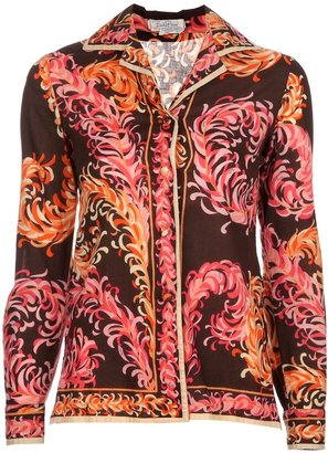 Emilio Pucci Pre-Owned 1970's Patterned Shirt