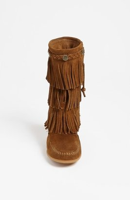 Minnetonka Fringe Boot (Walker, Toddler & Little Kid)
