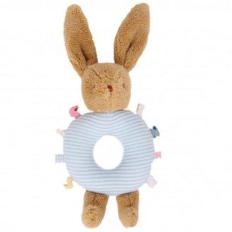 Trousselier Blue Rabbit rattle ring