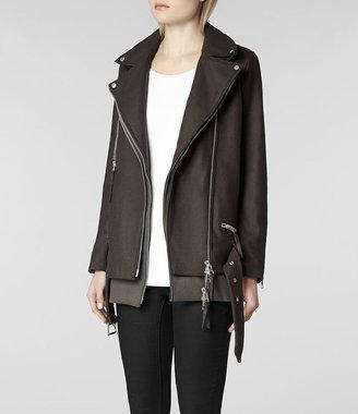 AllSaints Cedar Biker Coat