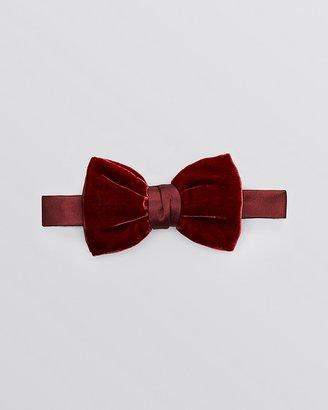 Yves Saint Laurent Velvet Bow Tie $135 thestylecure.com