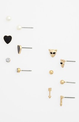 Statements by DCK Assorted Stud Earrings (Set of 6) (Juniors)