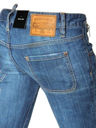 DSquared Skinny Stretch Cotton Denim Jeans