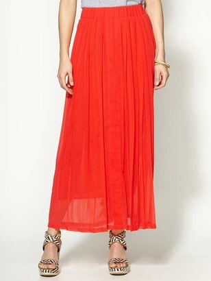 Collective Concepts Pleated Maxi Skirt