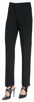 Armani Collezioni Featherweight Wool Trousers $595 thestylecure.com
