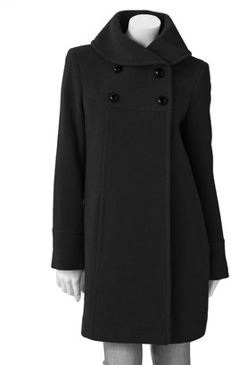Apt. 9 wool-blend swing coat - women's