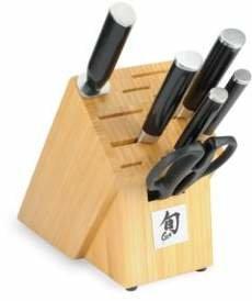 Shun Classic 7-Piece Essential Knife Block Set