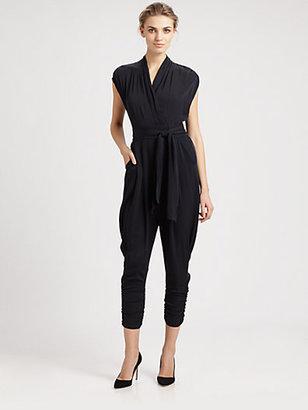 Catherine Malandrino Favorites Cap-Sleeve Jumpsuit