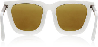 Alexander Wang Square-frame acetate and metal sunglasses