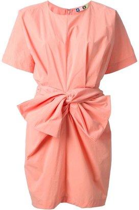 MSGM bow detail dress
