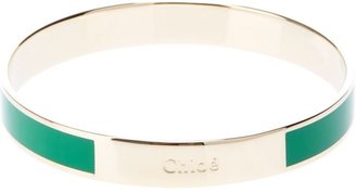 Chloé brand embossed bangle