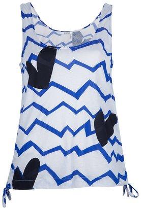 Sonia Rykiel Sonia By abstract print vest