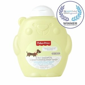 Fisher-Price 3-in-1 Shampoo, Conditioner & Body Wash
