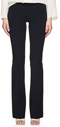 Derek Lam Women's Alana Stretch-Crepe Flared Trousers - Navy