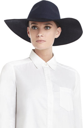 BCBGMAXAZRIA Color-Blocked Panama Hat