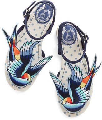Miss L Fire Tweet of Foot Sandal