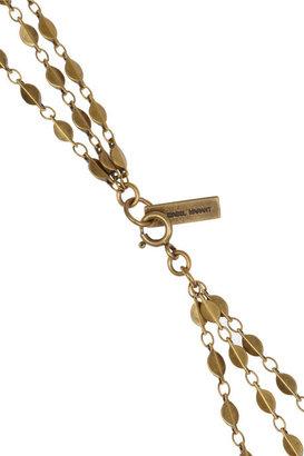 Isabel Marant Enameled multi-strand necklace