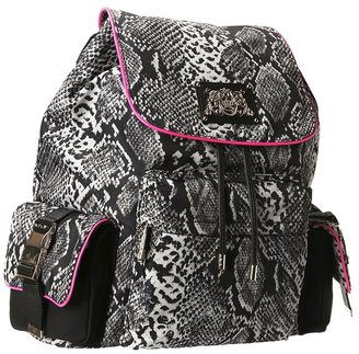 Juicy Couture Penny Backpack (Multi Snake) - Bags and Luggage
