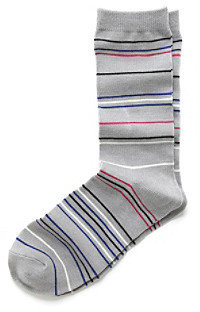 Relativity Striped Crew Socks