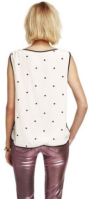 Juicy Couture Silk Dot Top