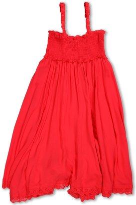 Seafolly Sassy Sista Tube Dress (Little Kids/Big Kids) (Cherry) - Apparel