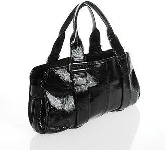 Roger Vivier excellent (EX Black Patent Leather Tekel Shoulder Bag