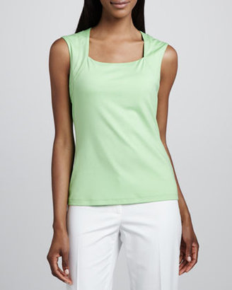 Lafayette 148 New York Stretch Knit Tank