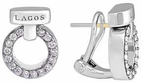 Lagos 'Enso - Circle Game' Diamond Stud Earrings