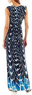 i jeans by Buffalo Short-Sleeve Empire-Waist Maxi Dress