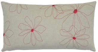 K Studio Hawaii Embroidered Pillow