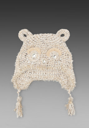 Anna Sui Jeweled Animal Accessories Hat