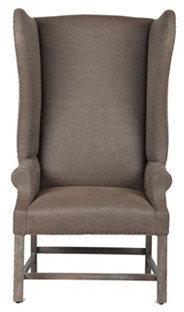 Milo Wing Chair, Chamois
