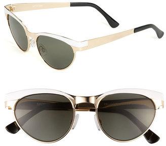 Spitfire Cat's Eye Metal Sunglasses