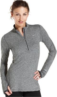 Nike Top, Element Long-Sleeve Dri-FIT Half-Zip Pullover